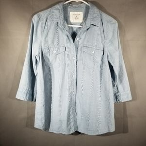 Chambray Button Down B66